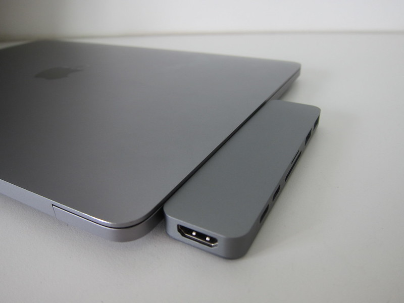 HyperDrive 7-in-2 USB-C Hub - With MacBook Pro
