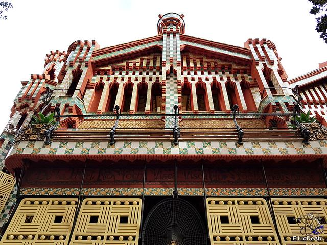 Casa Vicens primera casa modernista diseñada por Gaudi (5)