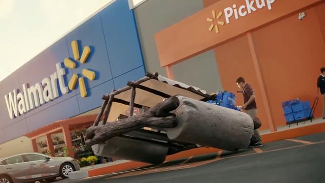 美國沃爾瑪超市最新廣告發表,《大黃蜂》《侏羅紀公園》《回到未來》等十多部電影「名車」現身!