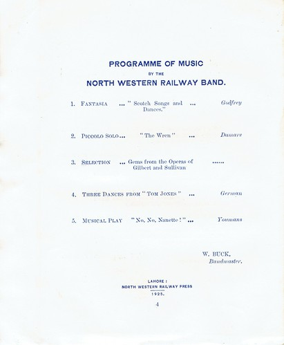India Railways - North Western Railway of India - Khyber Pass Railway Opening Ceremony (1925)