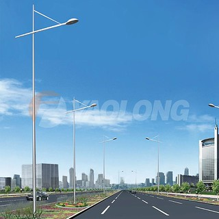 seamless aluminium light pole