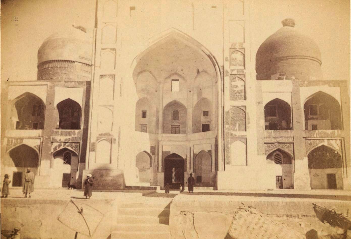 03. Бухара. Фасад Большой мечети