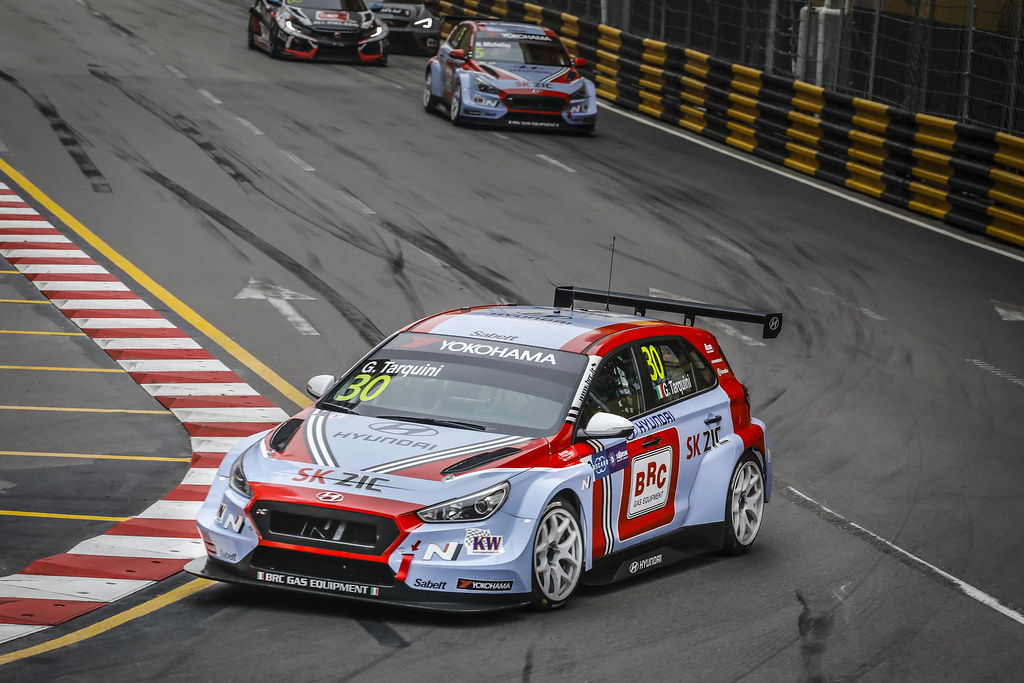 30 TARQUINI Gabriele, (ita), Hyundai i30 N TCR team BRC Racing, action during the 2018 FIA WTCR World Touring Car cup of Macau, Circuito da Guia, from november  15 to 18 - Photo Francois Flamand / DPPI