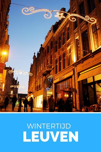 Winter in Leuven, beleef wintertijd in Leuven | Mooistestedentrips.nl
