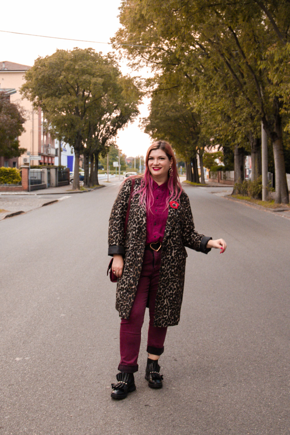 outfit plus size cappotto leopardato animalier (3)