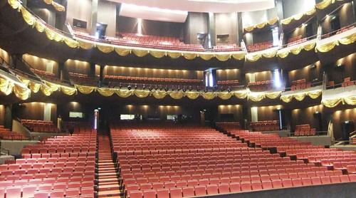Fuzhou Fujian Grand Theatre binnen