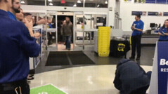 Canadians wildly rush a store on Black Friday