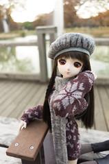 Hanako and Fountain Bench 3