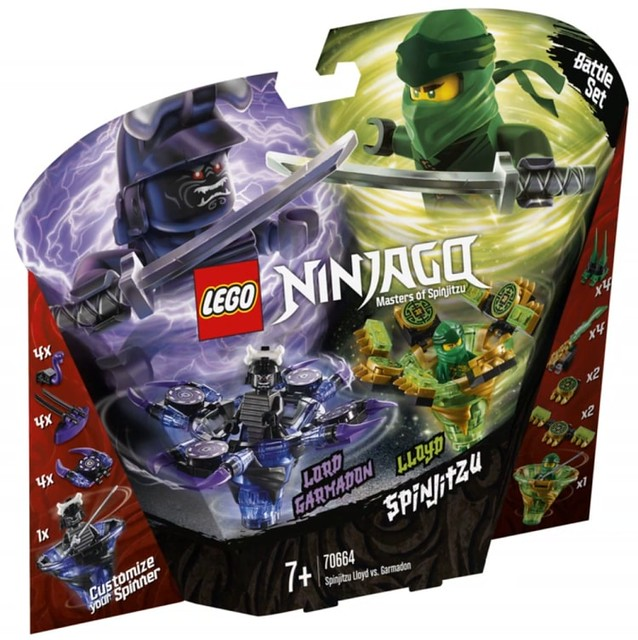 LEGO Ninjago Legacy 2019 70664 01