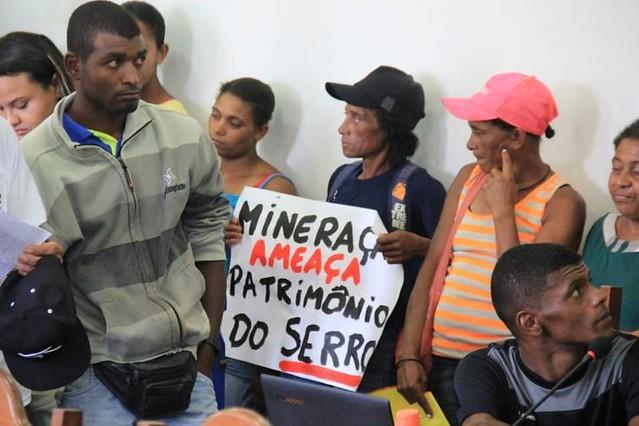 Grupo Herculano quer produzir 1 milhão de toneladas por ano; movimento diz que projeto vai prejudicar comunidades e meio ambiente - Créditos: Foto: Tiago Geisler