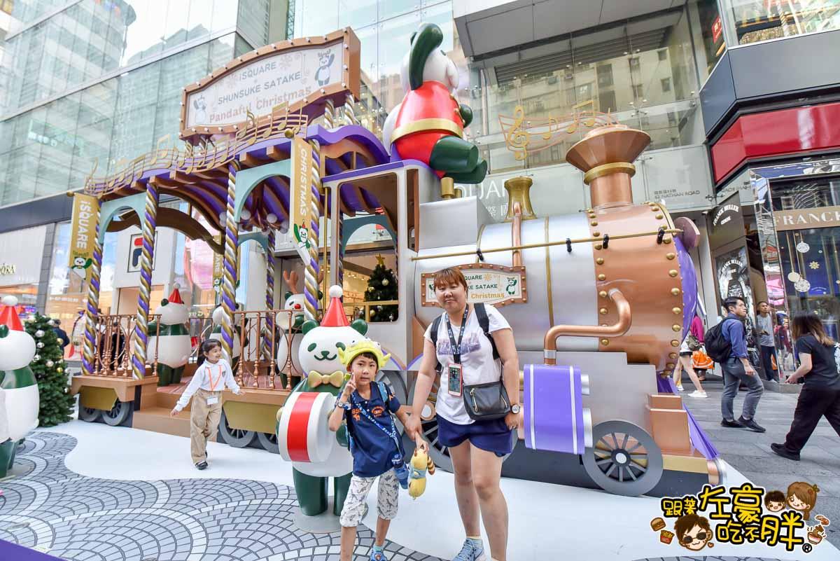 香港聖誕節 尖沙咀海港城聖誕裝飾-1