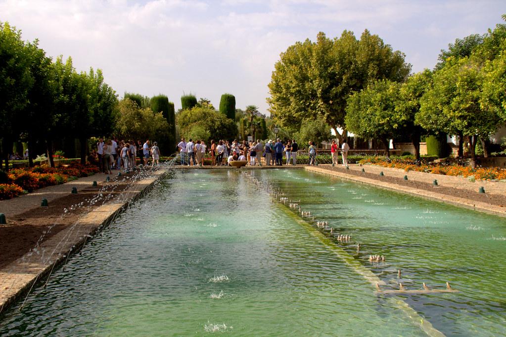 Jardines de los Alcázares de los Reyes Cristiano