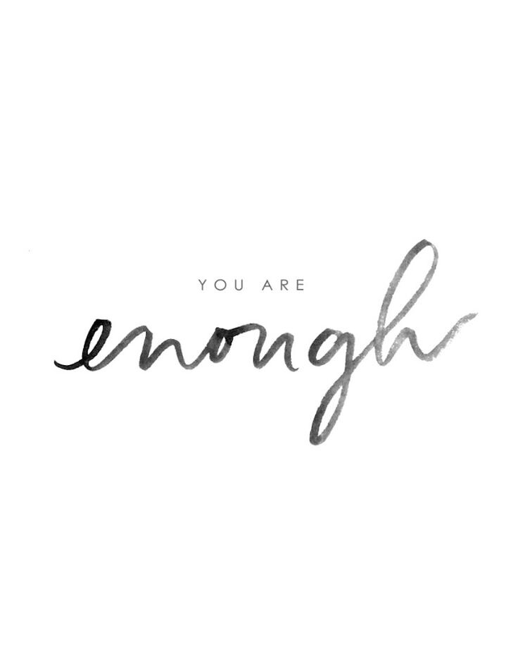 You Are Enough Quotes | Motivational Quotes You Are Enough Motivational Quotes Flickr