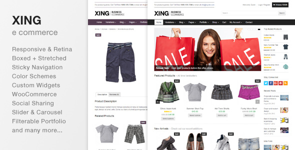 Xing v2.0.1 – Business / ecommerce WordPress Theme