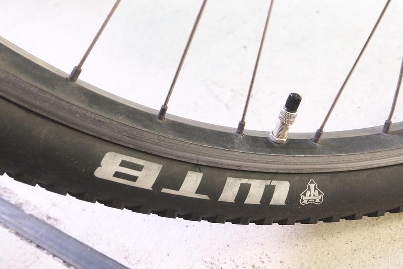 自転車のパーツ交換