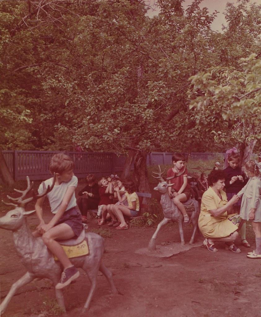 Саратовская область. Дом отдыха «Черемшаны-3». Детская игровая площадка