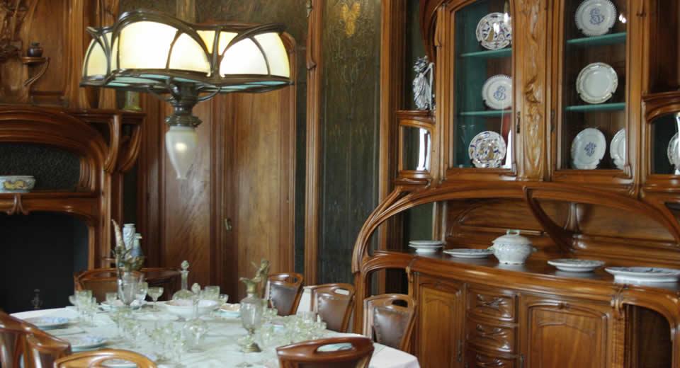 Art Nouveau in Nancy, Frankrijk: Villa Majorelle | Mooistestedentrips.nl