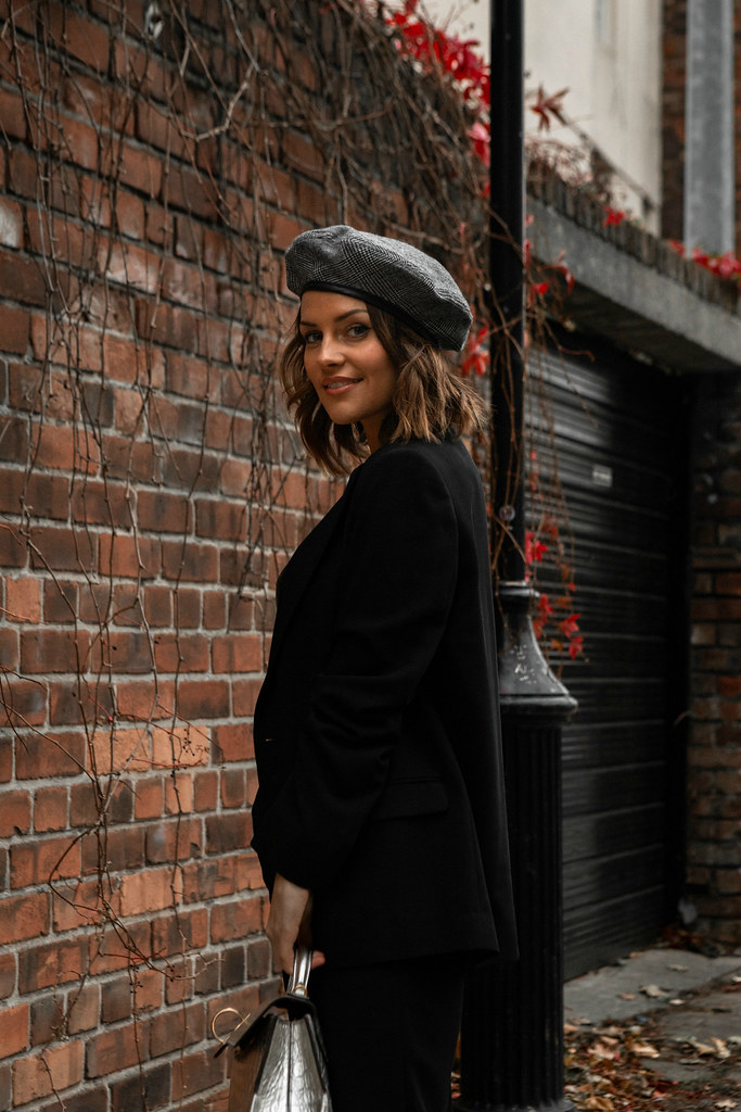 The Little Magpie Suit Lookbook Street Style Scottish Blogger