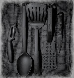 Kitchen Utililities black