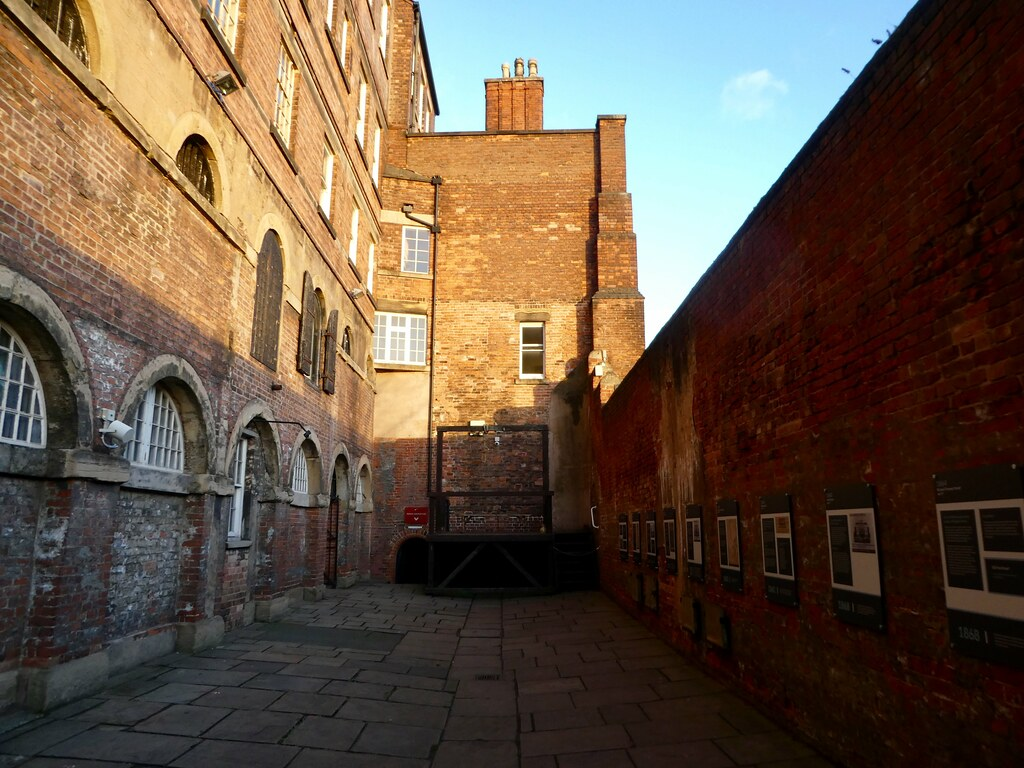 Felon's Yard and the gallows, National Justice Museum, Nottingham