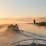Morning Tidal Race  by John Ponting