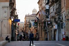 Merchants Street in Valletta