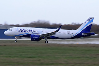 Airbus A320-271N IndiGo VT-IZM / F-WWBV