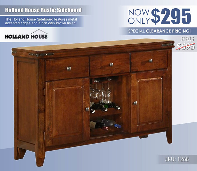Holland House Sideboard_1268_Clearance