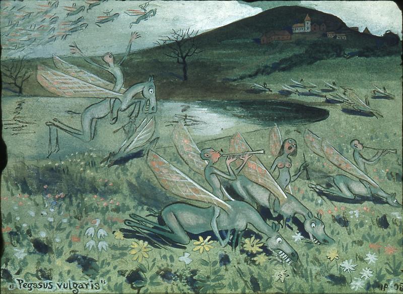 Ivar Arosenius - Pegasus Vulgaris, 1905