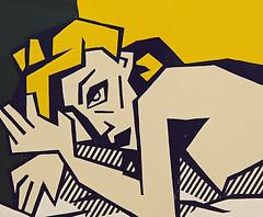 Roy Lichtenstein, Reclining Nude, 1980