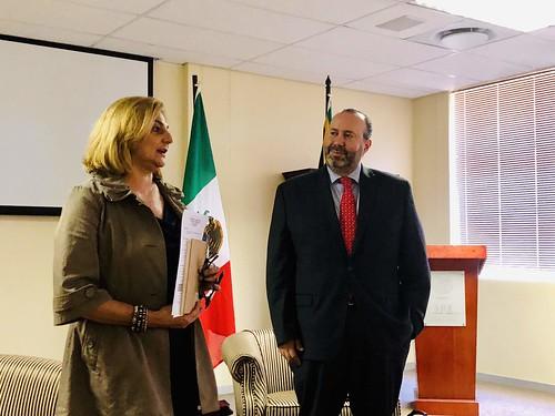 Actividades de la Embajada de México en Sudáfrica sobre la migración, en colaboración con el Centro de Estudios Mexicanos de Sudáfrica 2