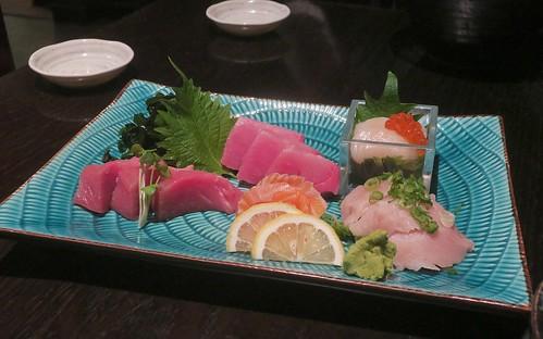 sumptuous sashimi