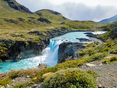 Salty Grande waterfall