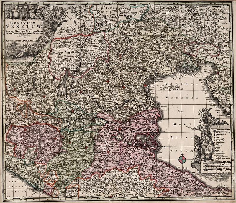Matthaeus Seutter - Dominium Venetum (1788)