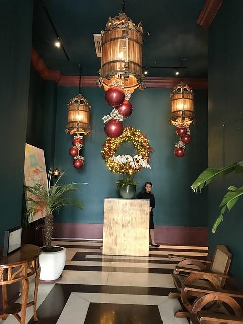 Manila House lobby