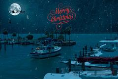 Christmas Eve at the Marina