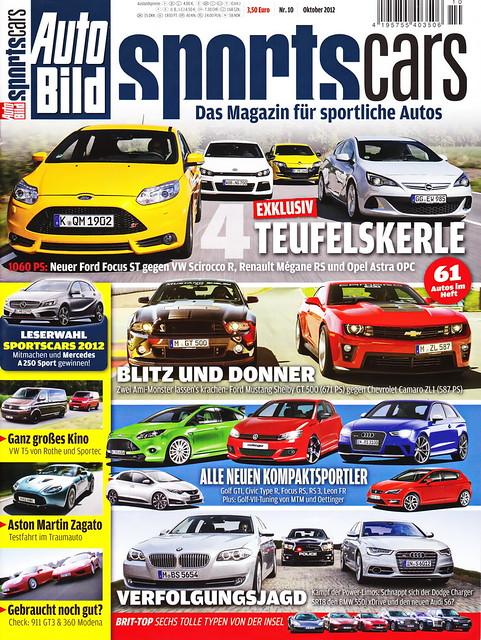 Auto Bild Sportscars 10/2012