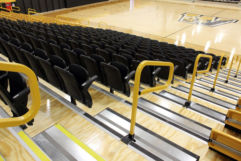 The College of Wooster | Timken Gymnasium Bleacher Replacement