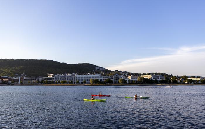 Norja Norway Norge Drammen kaupunki melonta meloja
