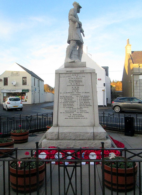 War Memorial, Ellon from South.