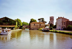 The Canal du Midi at Le Somail, 12th September 1994 - Photo of Saint-Nazaire-d'Aude