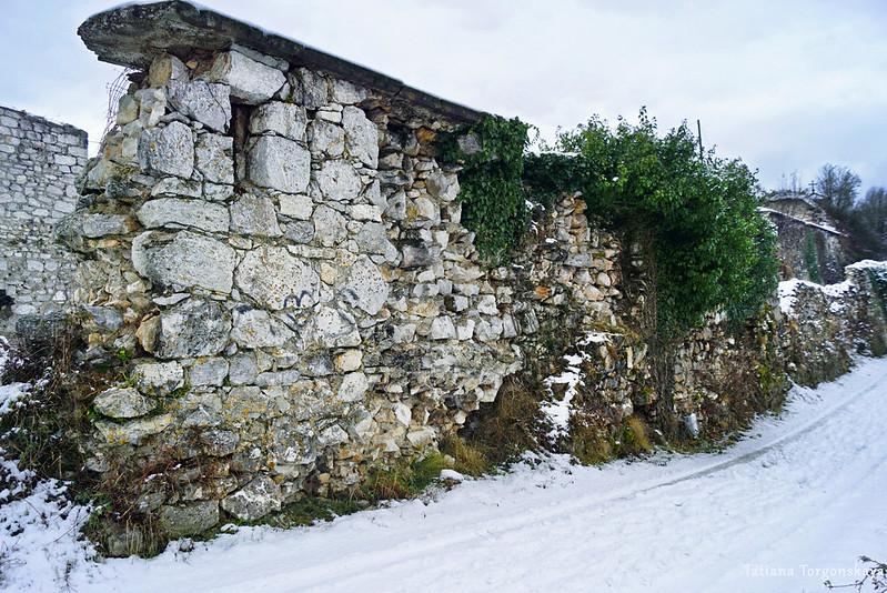Стены Верхнего города