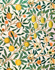 Fruit or Pomegranate by William Morris (1834-1896). Original from the The MET Museum. Digitally enhanced by rawpixel.