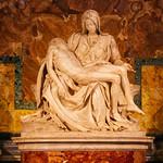 The Pietà by Michelangelo - https://www.flickr.com/people/34965710@N05/