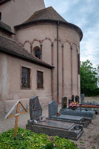 Abbatiale St Trophime (Eschau, France)-105