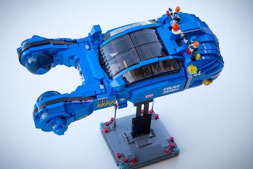 Blade Runner Spinner LEGO MOC