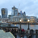City of London and HMS Belfast