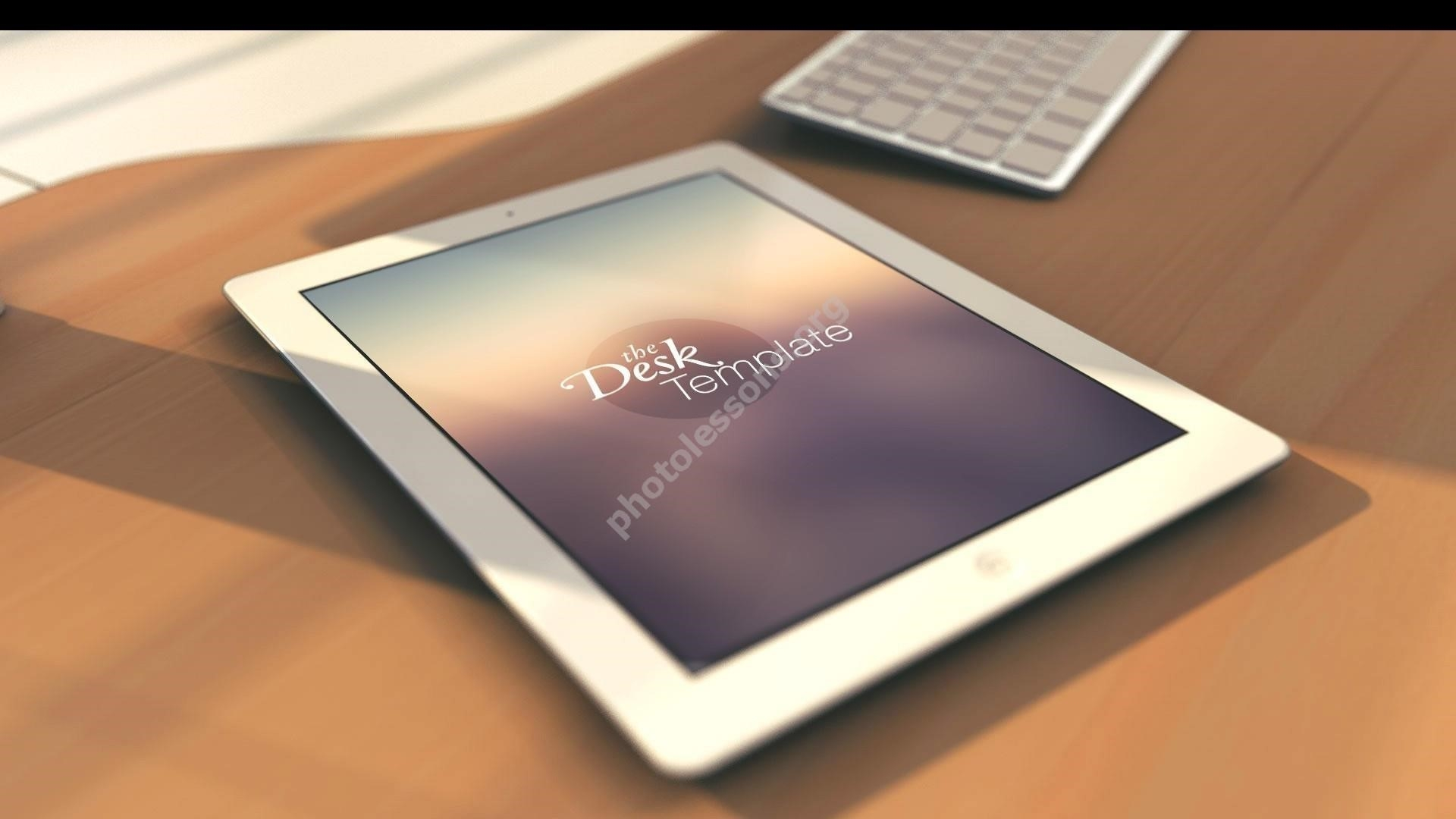 iPad format .PSD free download for Photoshop