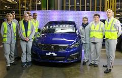 Peugeot 308, unidad un millón