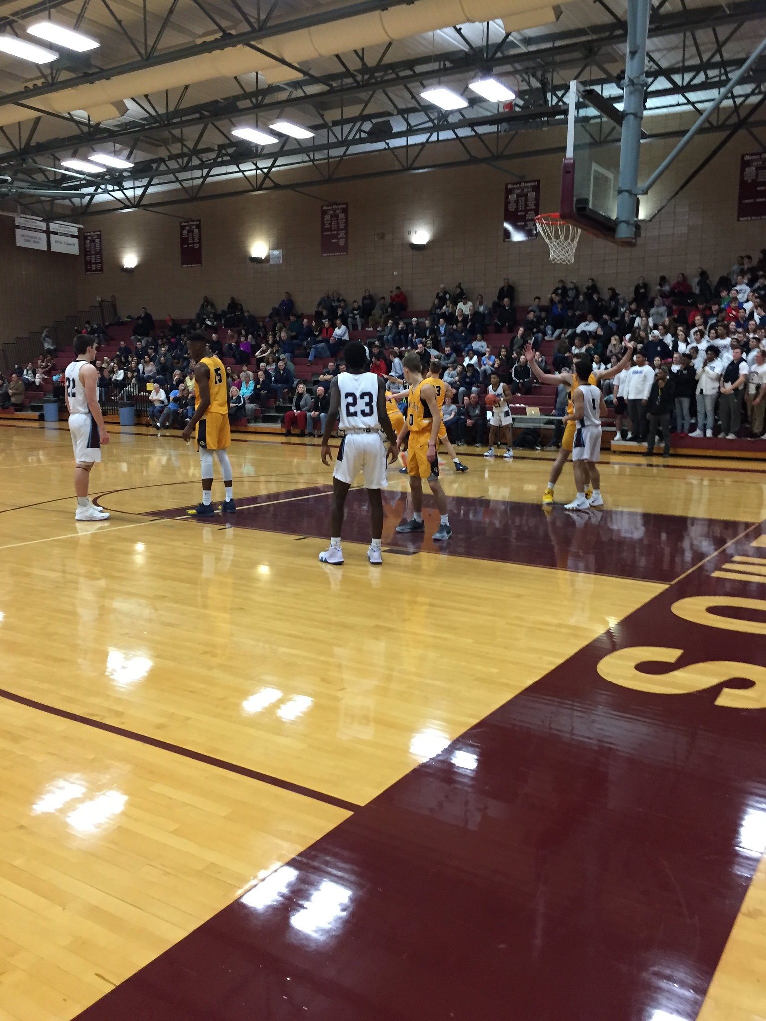Okemos Boys Varsity Basketball vs. Grand Ledge Comets